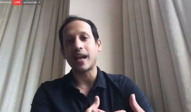 Nadiem Makarim: Kendala Belajar Jarak Jauh Bukan Internet