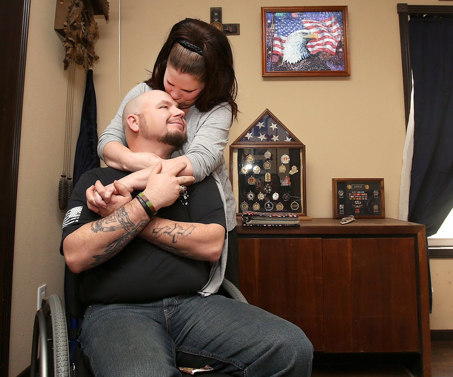 Combat PTSD News  Wounded Times Disabled Veteran Loses
