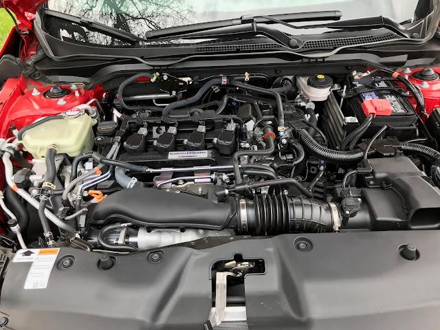 Engine in 2020 Honda Civic SI