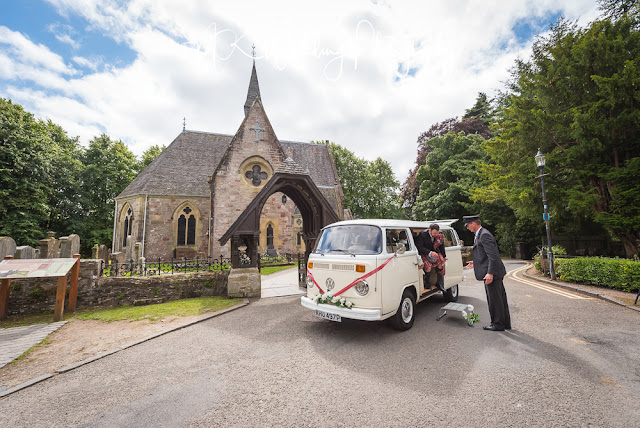 Luss Parish Church Wedding Photography
