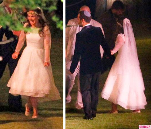 Natalie Portman vestido de noiva