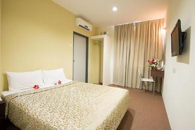 kamar Hotel Grand inn Penang Malaysia