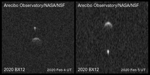 asteroide binario 2020 bx12