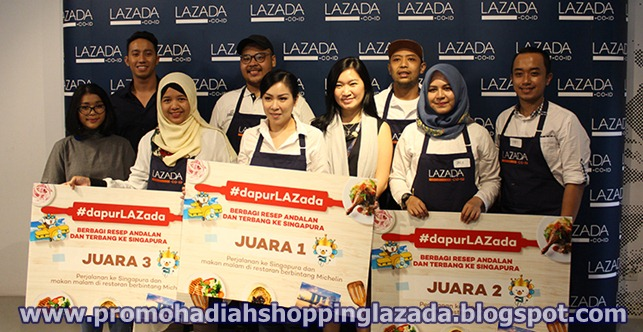 Pemenang Hadiah Undian Lazada 2019