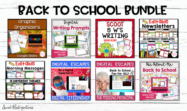 Back to School Bundle Products