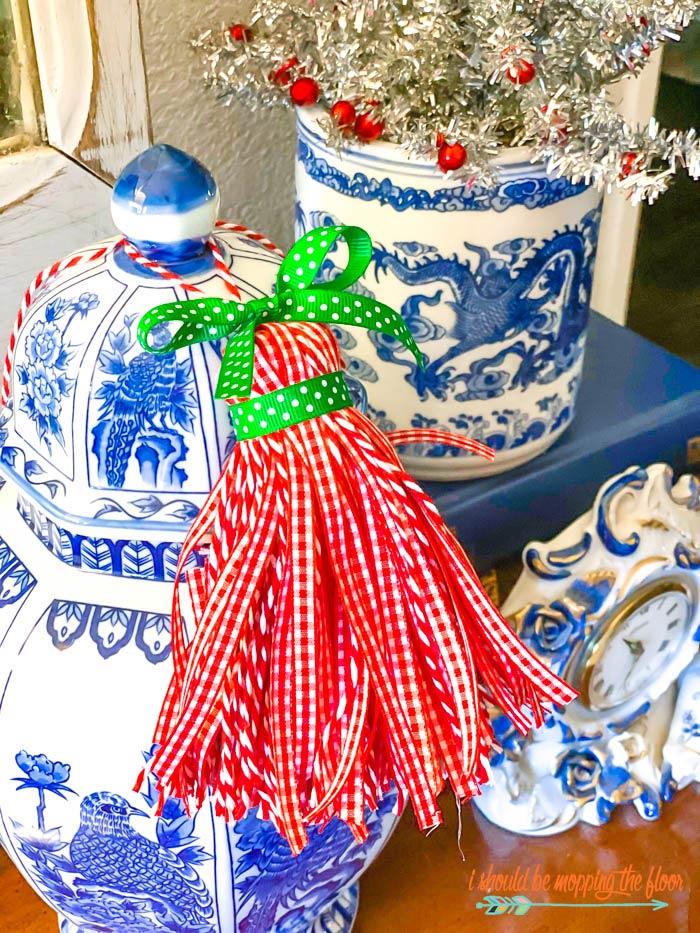 Chinoiserie Christmas Tassels