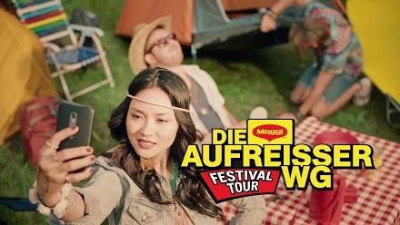 Die MAGGI Aufreisser WG auf Festival Tour | Ravioli schmecken nach Party, arm und glücklich!