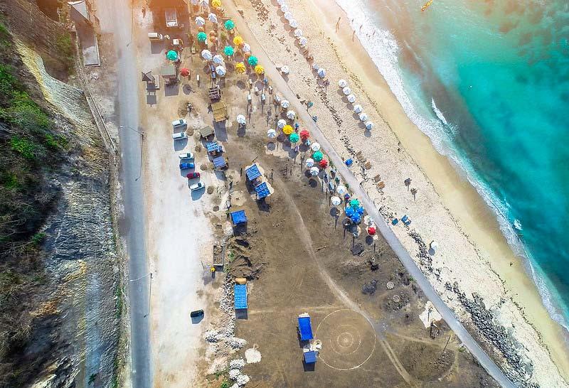 Fasilitas Wisata Pandawa Beach Bali