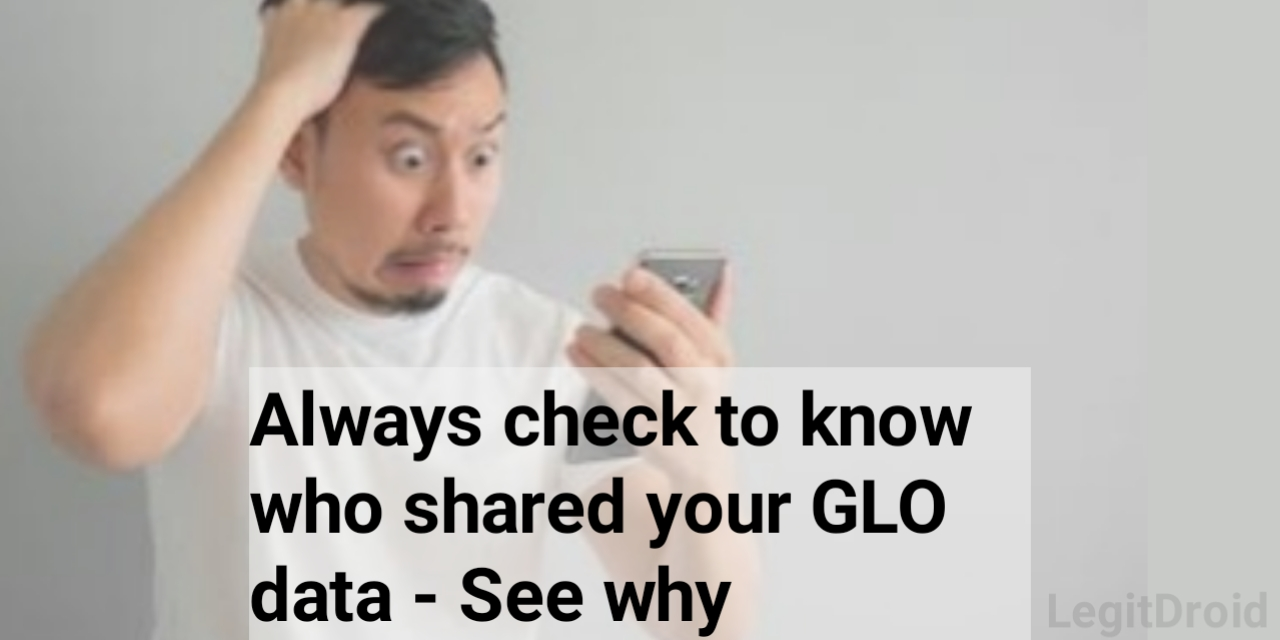 Shared GLO data subscription