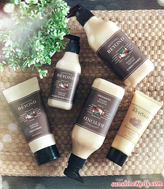 BEYOND Damage Repair Haircare Review, The Face Shop, The Face SHop Malaysia, Korean Hair Care, Hair Care Review, Damage Haircare, Beauty