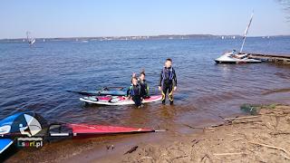 LSURF szkoła windsurfingu kwiecień 2017