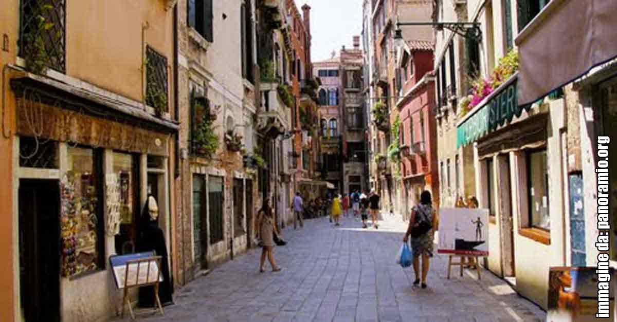 Calle dei Boteri a San Polo, Venezia