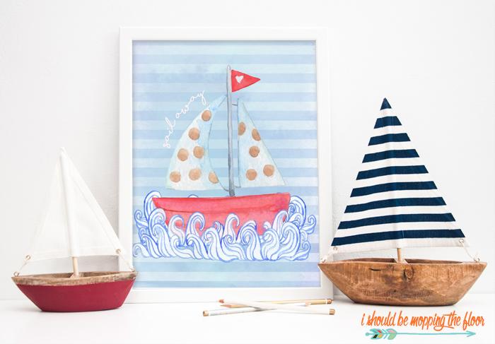 Sailboat Printable