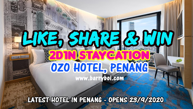 OZO Hotel Penang Place To Stay in Penang Penang Blogger Influencer Malaysia