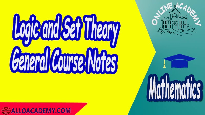 Logic and Set Theory - General Course Notes PDF Logic and Set Theory Proof Sets Reasoning Mathantics Course Abstract Exercises whit solutions Exams whit solutions pdf mathantics maths course online education math problems math help math tutor be online academy study online online education online education programs online tech schools online study courses learning online good online schools finite math online classes for adults online distance learning online doctoral programs online master degree best online schools bachelor of early childhood education elementary education online distance learning universities distance learning colleges online education degree phd in education online early childhood education online i need a degree fast early childhood degree top online schools online doctoral programs in education educational leadership doctoral programs online distance learning bachelor degree bachelor's degree in early childhood education online technical schools bachelor of early childhood education online distance