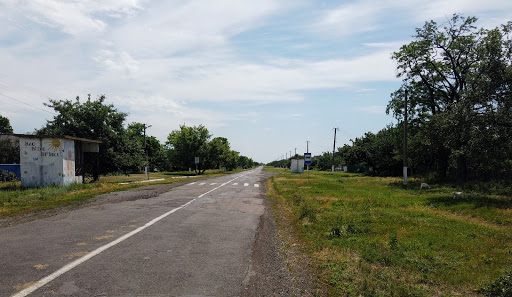 Юрьевка. Дорога на Шиловку
