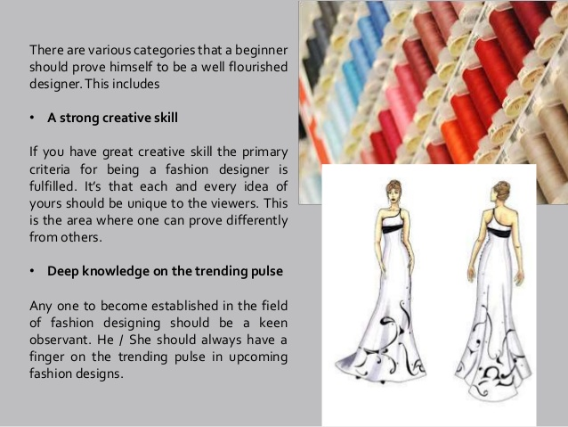Undeniable Facts About Fashion Design and How It Can Affect You