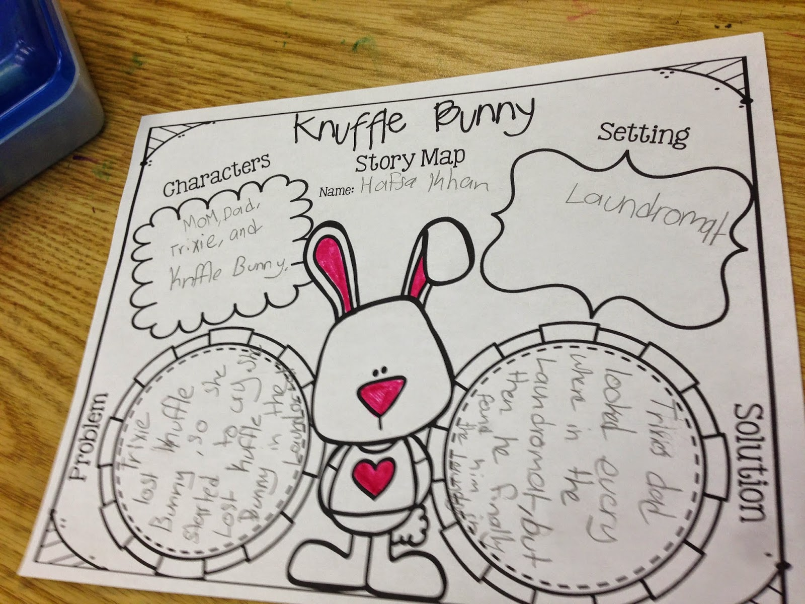 Teacher Deals And Dollar Steals Knuffle Bunny Unit