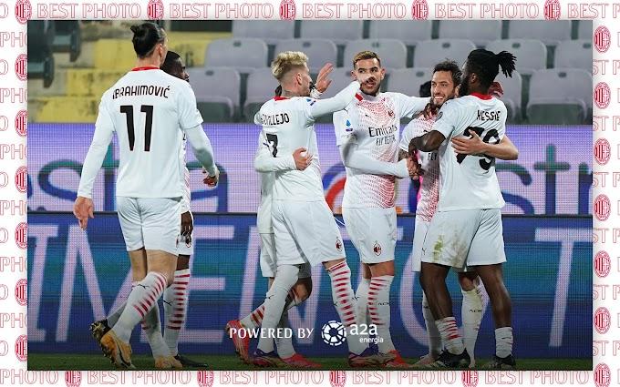 Il Milan espugna il Franchi