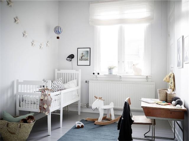 dormitorio infantil de estilo nordico chicanddeco