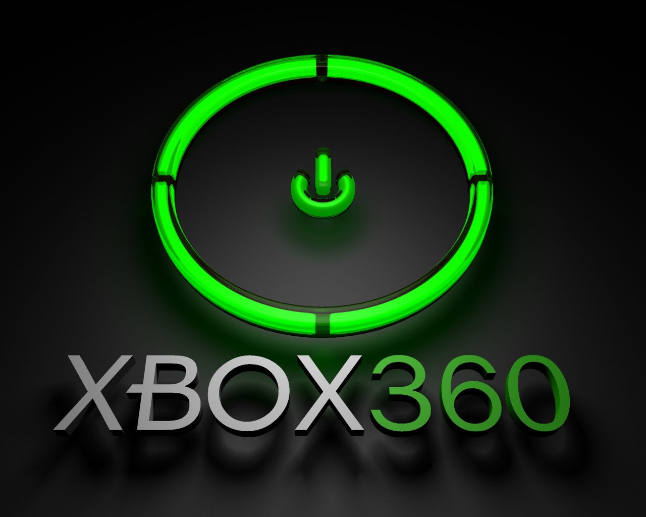 Video Game Gallery Xbox 360 Logo Wallpaper