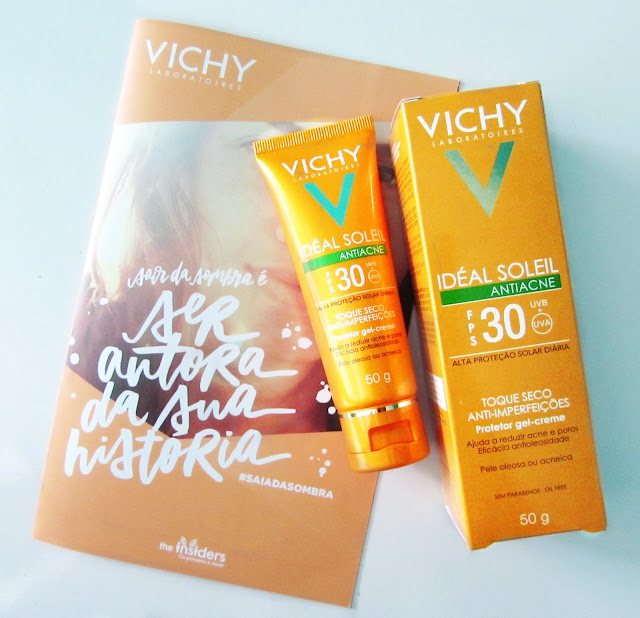 Protetor solar antiacne Ideal Soléil Vichy