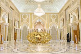 Monumentalitás: Abu Dabi elnöki palota