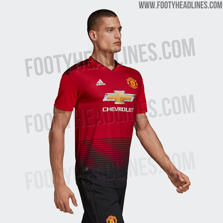 Manchester United 18-19 Home Kit to Be Launched Tomorrow - Footy Headlines ef67575ac