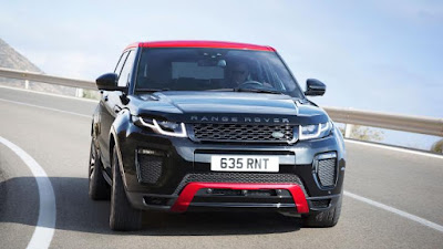 2017 Range Rover Evoque Ember Edition front look image