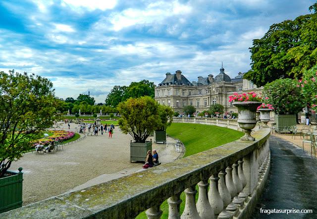Jardim de Luxemburgo, Paris