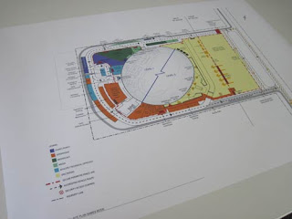Milton Velodrome Design Plans.