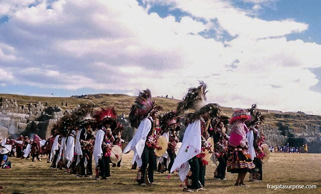 Celebração da Festa do Sol na Esplanada do Templo de Sacsayhuaman