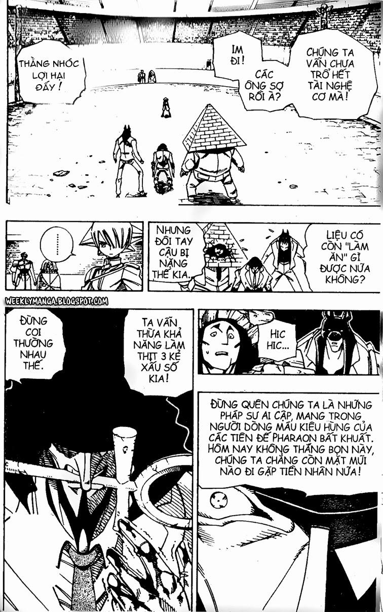 Shaman King [Vua pháp thuật] chap 123 trang 2