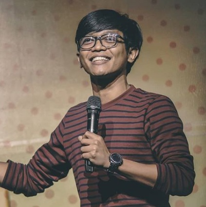 cover album lagu stand up komedian dzawin