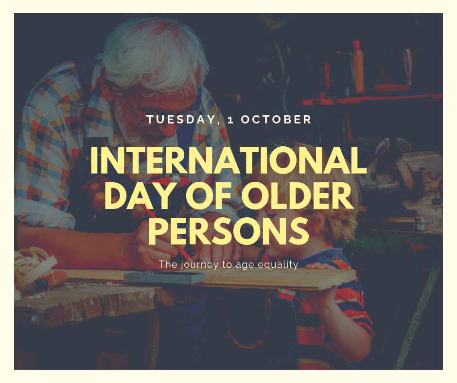 International Day of Older Persons Wishes Beautiful Image