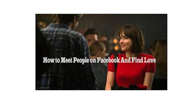 Meet People | Can I Meet People on Facebook & Find Love