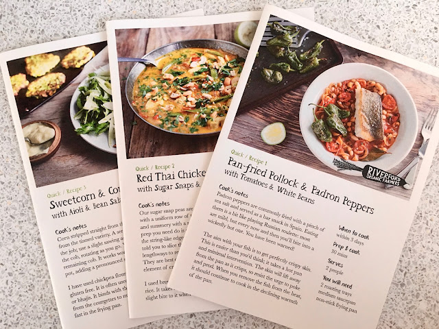 Riverford Organic Recipe Cards