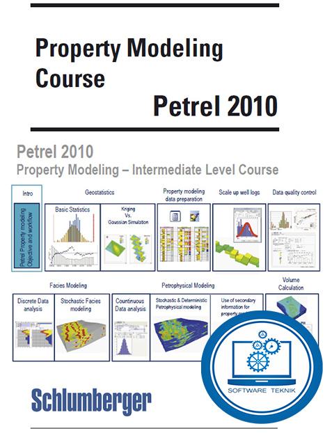 Schlumberger Petrel 2010 Property Modeling Courset