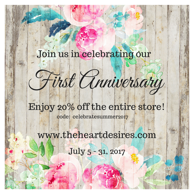 The Heart Desires First Anniversary!