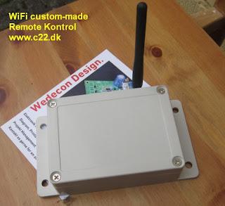 Kundetilpasset elektronikudvikling WIFI modul