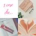 Cinque cose che #16: 5 libri da poco aggiunti alla mia Wishlist