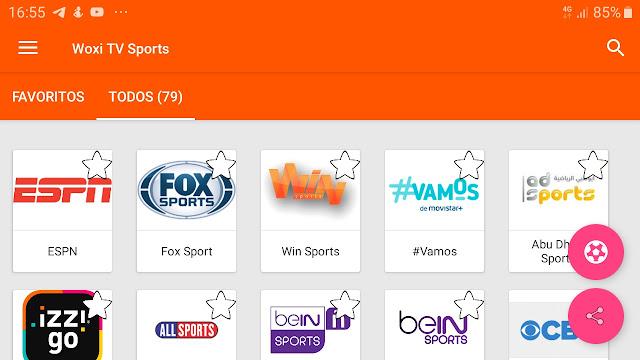 تحميل تطبيق woxi tv sport لمشاهدة القنوات الرياضية العالمية بجودة عالية و بدون تقطيع