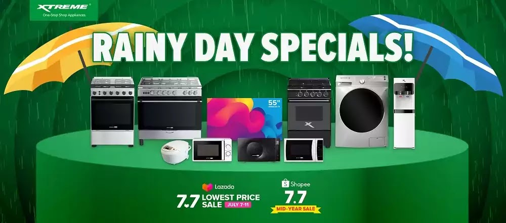 XTREME Appliances Rainy Day Specials