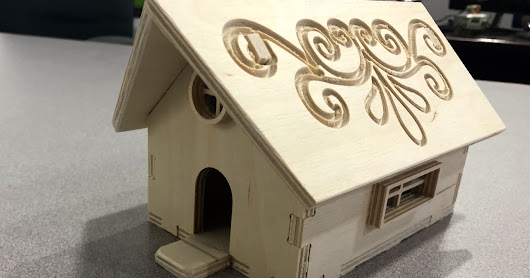Birdhouse in my Soul - My first CNC Router Project