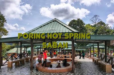 PORING HOT SPRING, SABAH