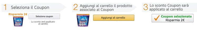 Come utilizzare i coupon Amazon