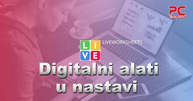 DIGITALNI ALATI - LIVEWORKSHEETS - IZVOĐENJE VIŠE RAČUNSKIH RADNJI