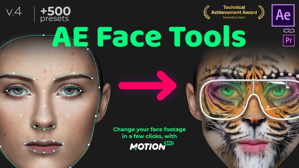 Videohive - AE Face Tools V4.1