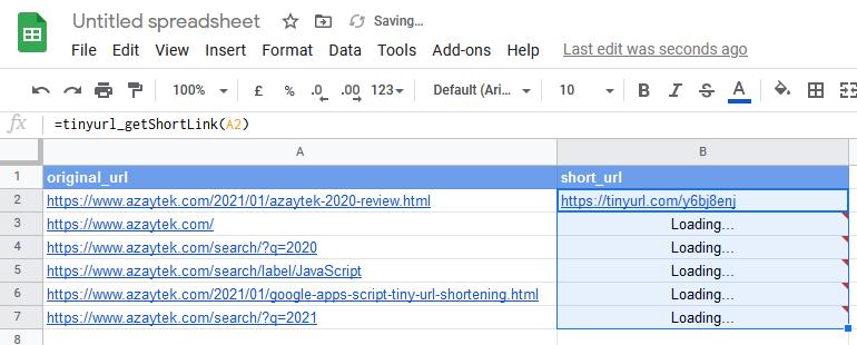 shorten-url-google-apps-scripts