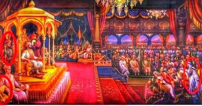 शिवाजी महाराजांचे काल्पनिक चित्र आणि त्याचा चुकीचा इतिहास पसरवणे बंद करा